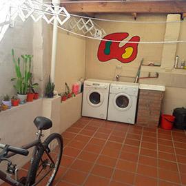 Lavadero y tendederos Residencia Quijote