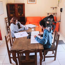 Salas de estudio Residencia Quijote